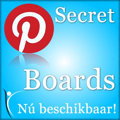 Secret boards in Pinterest