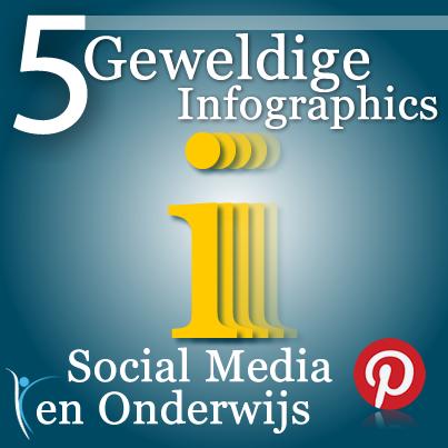 Social Media en onderwijs, 5 geweldige infographics!