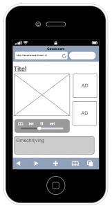 wireframe iphone app