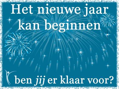 Het nieuwe jaar kan beginnen, ben jij er klaar voor?