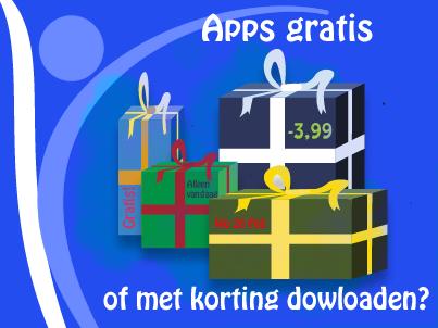 Apps gratis of met korting