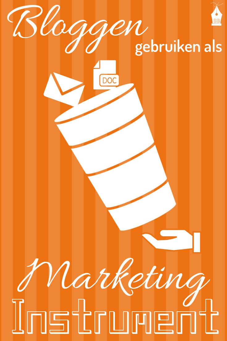Bloggen gebruiken als Marketing Instrument?