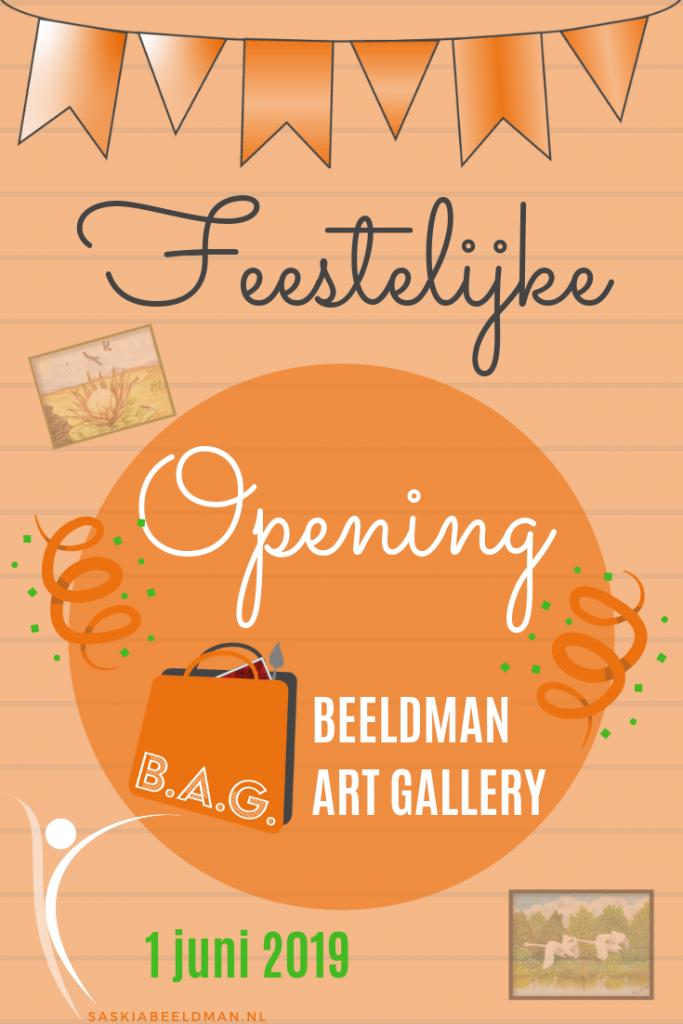 Feestelijke opening Kunstgalerie