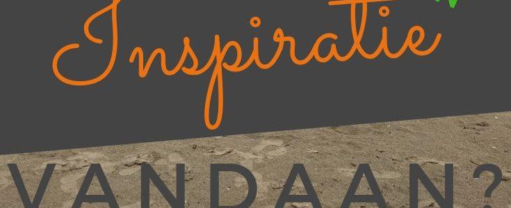 Waar komt inspiratie vandaan?