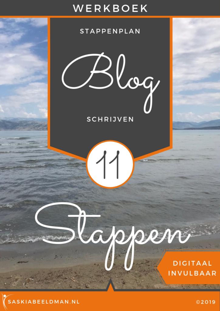 Werkboek - 11 stappenplan BLOG schrijven